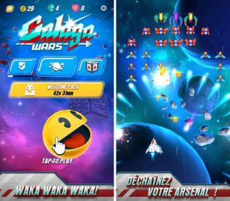 Galaga Wars invite Pac-Man à shooter sur Android