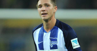 Foot - ALL - Hertha - L'international Espoirs allemand Niklas Stark prolonge au Hertha Berlin