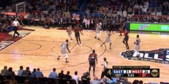 Le alley oop Kevin Durant – Russell Westbrook !
