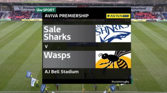 Aviva Premiership - Match Highlights - Sale Sharks v Wasps