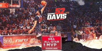 Highlights : Anthony Davis bat le record de Wilt Chamberlain lors d'un All-Star Game NBA