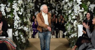 Ralph Lauren clôt la semaine des shows à New York