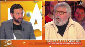 VIDEO - Zapping LCI : Cyril Hanouna bouche bée face à René, le parleur le plus rapide du monde
