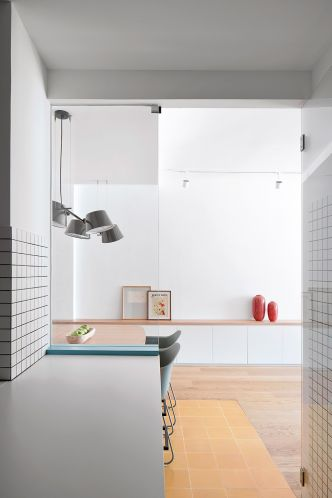 Rénovation d'un appartement de 80 m2 à Barcelone par BONBA Studio