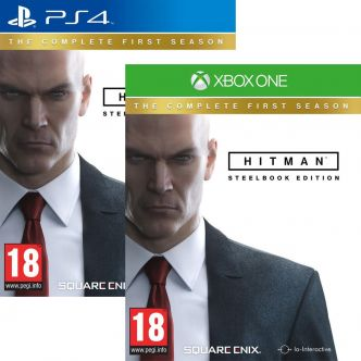 Bon plan Hitman Complete First Season Steelbook pas cher sur PS4 et Xbox One