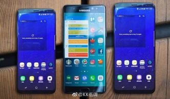 Samsung Galaxy S8 et S8 Plus vs Note 7