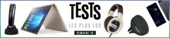 Top 10 des tests – Huawei P10, Lenovo Yoga 910, Logitech ZeroTouch Air