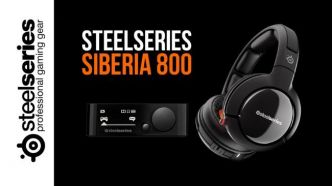Test du casque gaming sans-fil Siberia 800 - High-Tech - GAMEWAVE