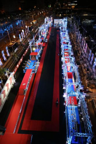 Enregistrement à Cannes de la saison 2 de Ninja Warrior. - Leblogtvnews.com