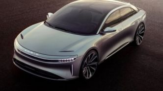 Lucid Air : accessible dès 52 500 dollars