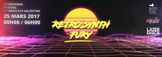 75 - Retro Synth Fury @ Le Batofar le 25/03/2017