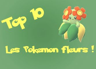 Pokemon Go : Top 10 des Pokemon Fleurs ! - Pokémon Go France