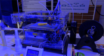 Maker Faire Grenoble : Chameleon One, l'imprimante 3D télescopique !