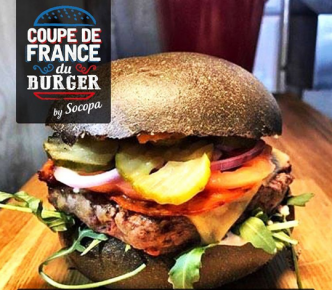 Le chef Vincent Boccara remporte la Coupe de France du Burger