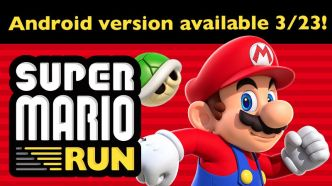 Super Mario Run disponible à partir du 23 mars sur Android