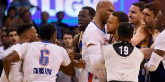 Russell Westbrook et Stephen Curry reviennent sur l'altercation