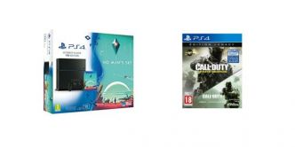 PS4 1 To + No Man's Sky + Call of Duty: Infinite Warfare & Modern Warfare à 329€