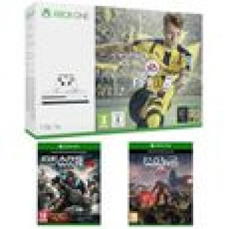 Xbox One S 1 To + FIFA 17 + Gears of War 4 + Halo Wars 2