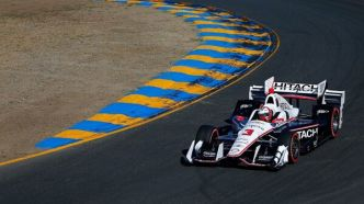 Helio Castroneves en pole au GP de Long Beach