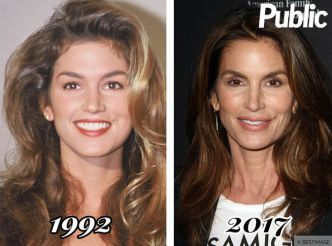 Cindy Crawford : sa transformation physique !