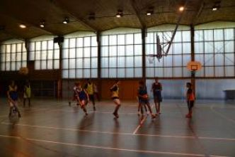 Thiers - Finales inter-académiques UNSS de basket-ball et de volley