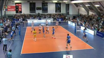 Volley Ball - Replay : Championnat de France Volley Ball 1/4 Finale Retour Montpellier Nice