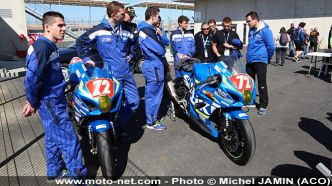 Le Junior Team Suzuki teste la GSX-R 2017 aux 24H Motos