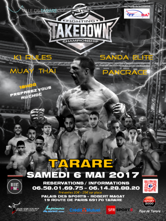 Takedown Fighting Championship : Cédric Bullion dit tout !