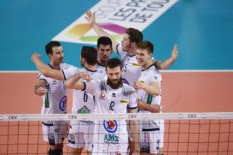 Volley - CEV - Tours remporte la Coupe de la CEV face à Trente