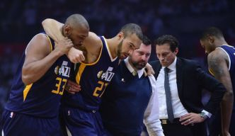 NBA: Rudy Gobert manquera le match N.2  des Play-offs face aux Clippers
