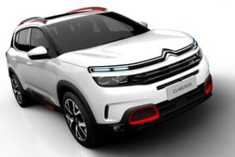 Le Citroën C5 Aircross en images