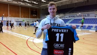 Volley - Gildas Prévert, de l'insouciance et du talent