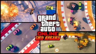 Grand Theft Auto on line : Un nouveau mode de jeu