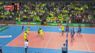 Volley - Ligue A (H) : Toulouse domine Nice en demi-finale aller