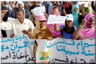 Amnesty qualifie d'intimidation la condamnation d'une activiste mauritanienne