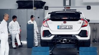 Civic Type R : record sur le Ring