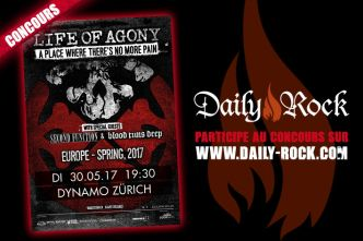 Concours Life of Agony (invits)