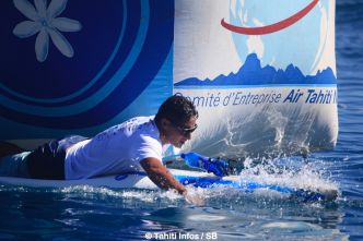 SUP – ATN Royal race : L'outsider Lorenzo Bennett remporte la course