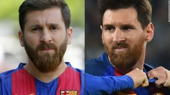 Meet the Iranian Messi doppleganger - CNN Video