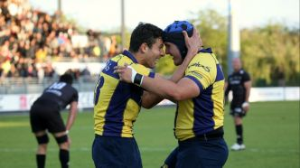 Rugby chamb ry une marche de la prod2 for Nevers chambery