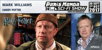 Mark Williams (Harry Potter)  à Paris Manga & Sci-Fi Show ! Cc @parismanga - Otakuplayer : Parlons Jeux Vidéo & Manga