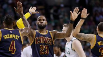 Les Cavs l'emportent par 44 points à Boston