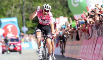 Tour d'Italie: coup de force de Tom Dumoulin