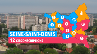 (93) Seine-Saint-Denis : les candidats dans les 12 circonscriptions - France 3 Paris Ile-de-France