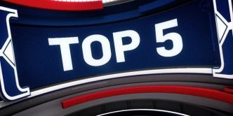 Top 5 NBA :  Stephen Curry écœure Simmons; Kevin Durant est partout : dunk, passe, contre