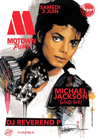 75 - Motown Party tribute to Michael Jackson @ Le Djoon le 03/06/2017
