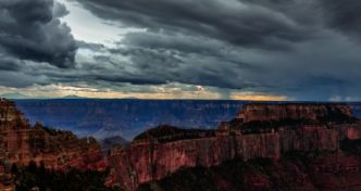 Incroyable timelapse du ciel du Grand Canyon