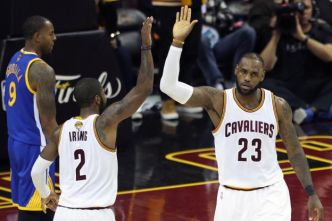 Basket - NBA - Les Cleveland Cavaliers surclassent Golden State et privent les Warriors du titre