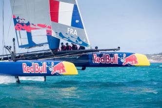 Place aux Bleuets sur la Red Bull Youth America's Cup
