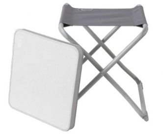 Action : chaise pliante aluminium et table de camping à 7,95 €